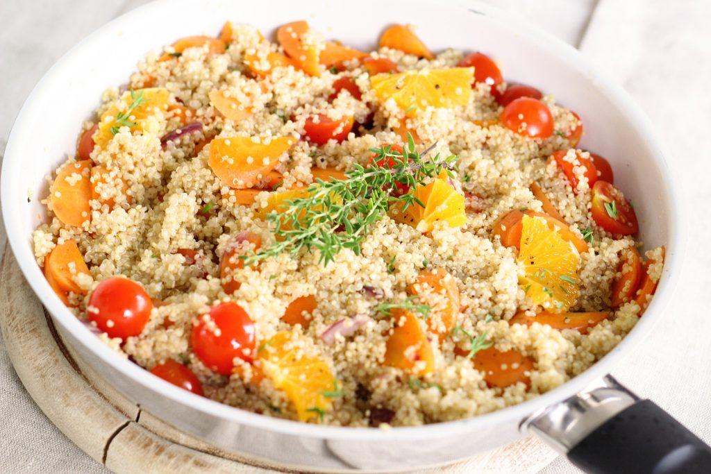 Taboulet de Quinoa à l'Orange