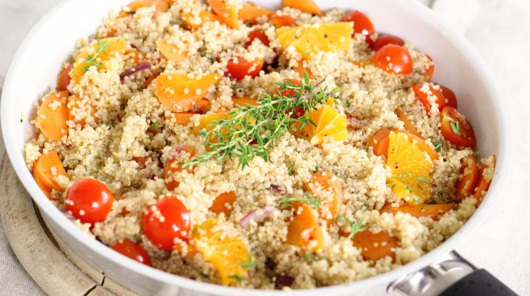 Taboulet de Quinoa à l'Orange